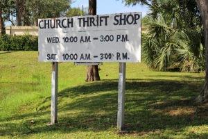 Church Thrift Shop