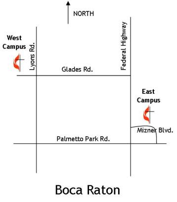 FUMC location map