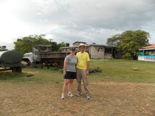 Pastor Tom Tift and Jill Haire director of student ministries who led the mission team to Haiti