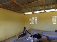 Boys dorm after being painted