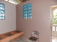 Girls dorm after being painted