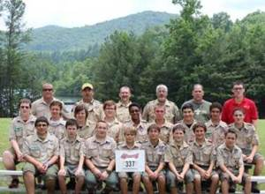 Boy Scout summer camp 2013
