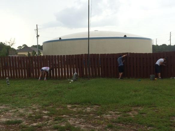 fence repairs