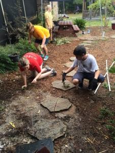 gardening and weeding