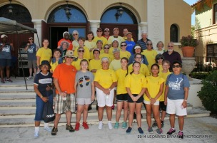 most of our group that participated in the walk