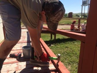 Replacing more railings