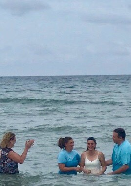 baptism at the beach 2018