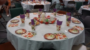 pp dinner tables