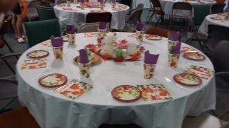 pp dinner tables